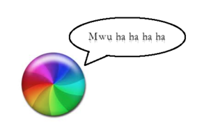 rainbow wheel